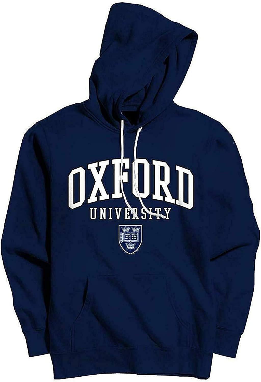 con stemma ufficiale Felpa con cappuccio da uomo Oxford University