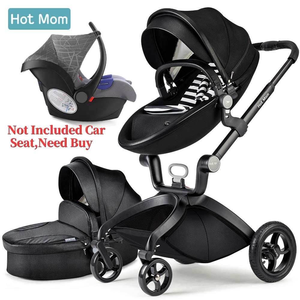 Hot Mom Car Seat Group 0+ cumple con la norma europea ECE44, compatible con el modelo de cochecito de mamá caliente F22 Hot Mom baby products co. ltd BIUCO-BC100B