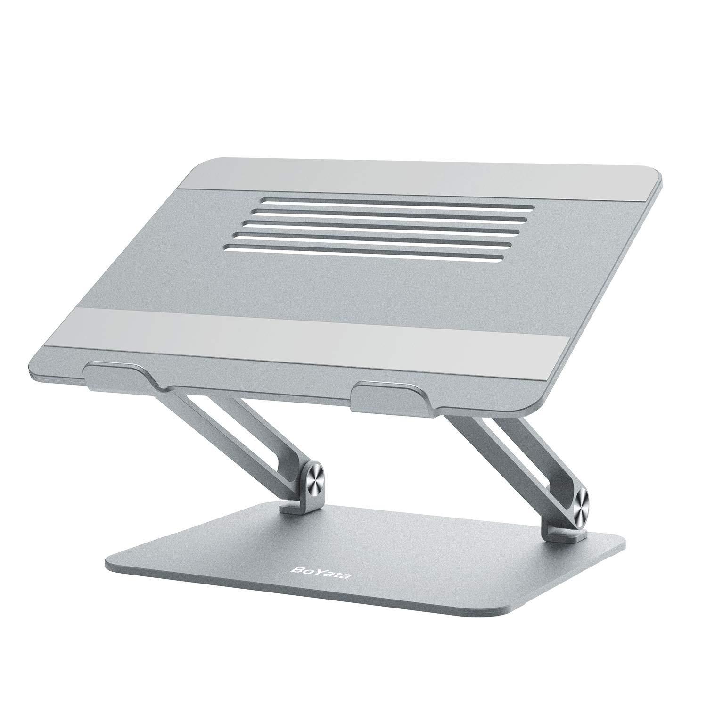 Rose Support pour MacBook: Sable Multi-Angle Support Refroidissement 10-15.9 Pouces HP BoYata Support Ordinateur Portable y Compris MacBook Pro//Air Compatible avec Les Ordinateurs Portables