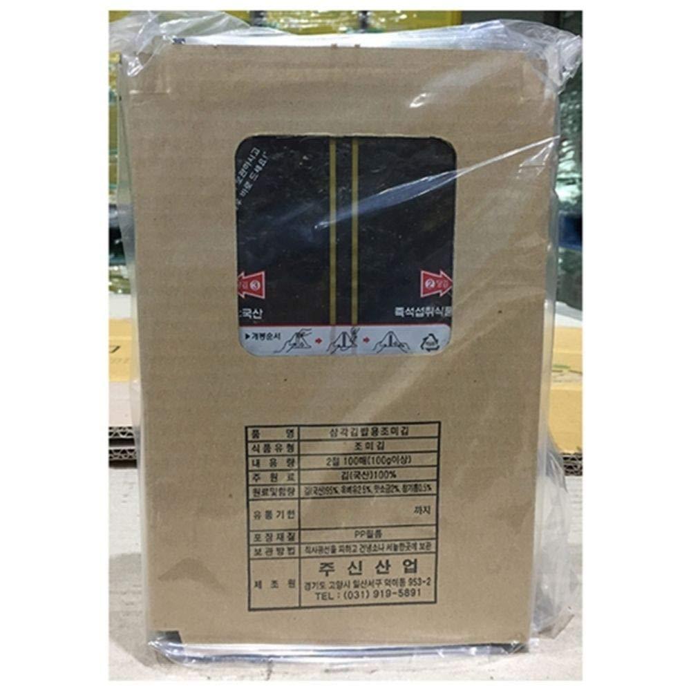 Korea Seaweed Seasoned for Onigiri 100 pieces
