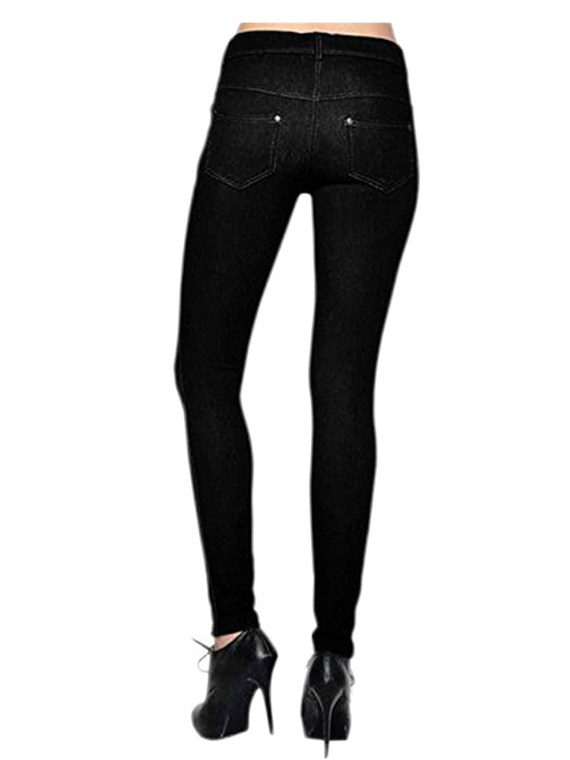 c290e0ccff5f8 Womens Pull On Cotton Blend Color Jeggings at Amazon Women's Clothing store: