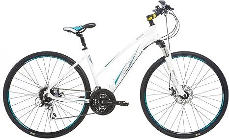 Indigo Verso X3 - Bicicleta híbrida para Mujer, Talla XS (147-156 ...
