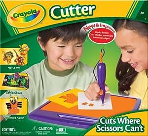 """Crayola Cutter """"Can Cut Where Scissors Can't"""""""