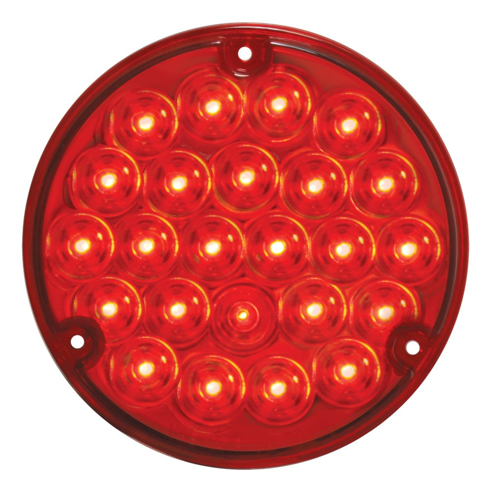 Grand General 76152 Red 4'' 24-LED Stop/Turn/Tail Load Light
