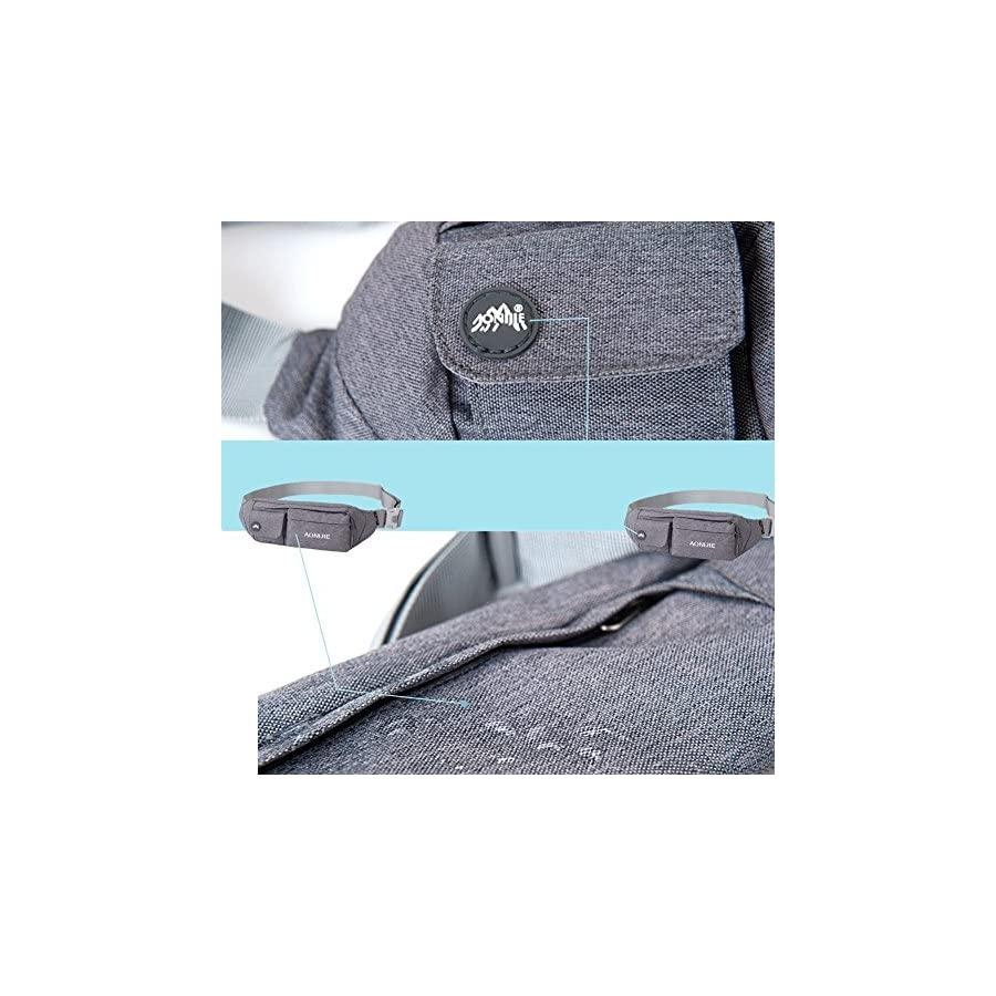 81da4f0722db AONIJIE Premium Waterproof Waist Pack Running Belt Exercise Bag ...