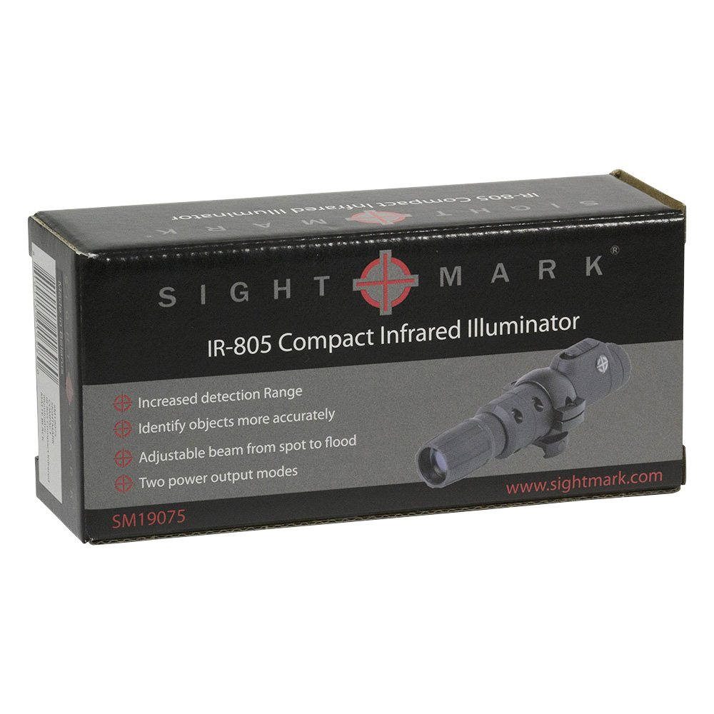 Circuit City Sightmark IR-805 Compact Infrared IR Illuminator Flashlight w/Batteries + Microfibers (SM19075) by Circuit City (Image #9)