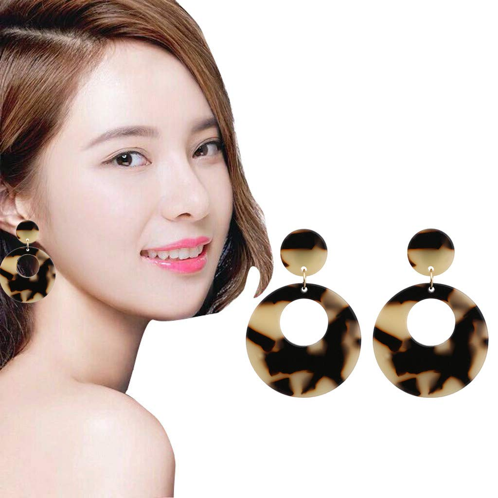 New Bohemian Drop Earrings Stud Jewelry Decors Accessories Gifts for Ladies Girls Womens Mjuan Fashion Simple Temperament Dangle Earrings