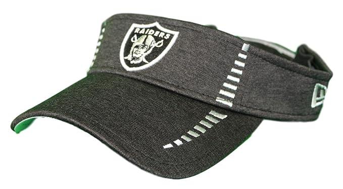 45c8e2500ef385 Amazon.com : New Era Oakland Raiders NFL Shadow Speed Performance  Adjustable Visor : Clothing