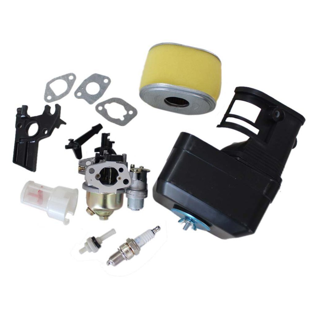 Cozy Pack of Carburetor Air Filter Cleaner Housing Assembly Kits fit for Honda Gx160 5.5 Hp Generator Water Pump Replace 16100-ZH8-W61 00319