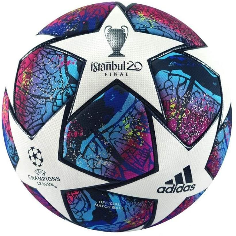 estómago Estragos pared  Amazon.com : adidas Finale Istanbul 20 UEFA Champions League Official Match  Ball (5) : Sports & Outdoors