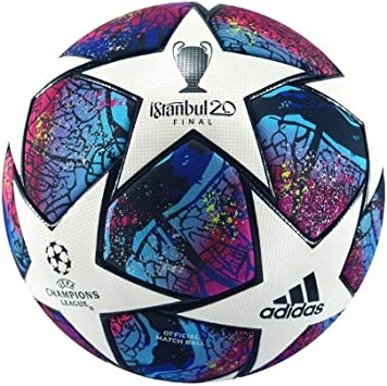 amazon com adidas finale istanbul 20 uefa champions league official match ball 5 sports outdoors adidas finale istanbul 20 uefa champions league official match ball