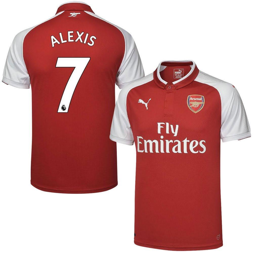 Arsenal Home Trikot 2017 2018 + Alexis 7