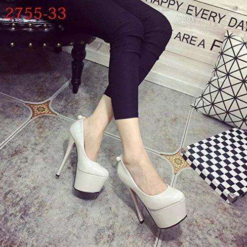 fino alto de cm 16 tacon de Gray tacon Zapatos x0AqP6wFEP