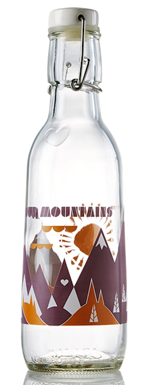 Love Bottle Mountain Air Love Our Mountains Bottle, Small, Multicolor by Love Bottle (Image #2)