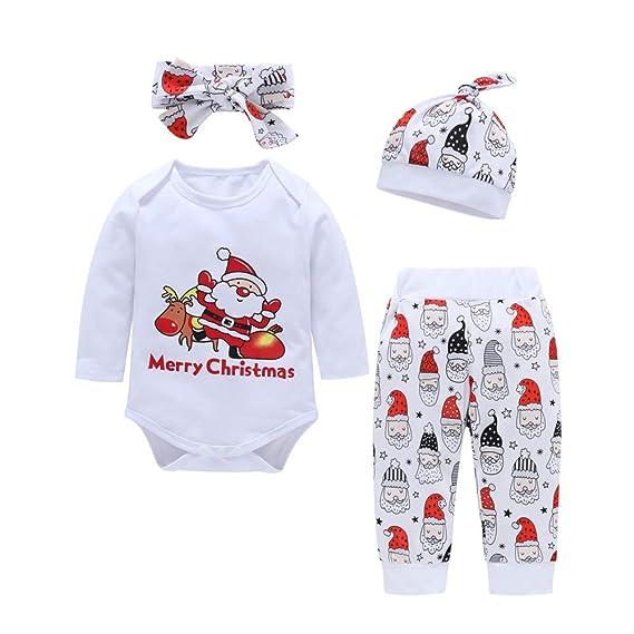 K-youth Conjuntos Bebe Niña Navidad Body Bebe Manga Larga Bebé Monos ...