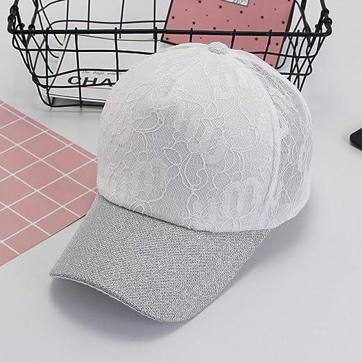 Gorra de béisbol para Mujer, Visera, Capullo, Pantalla de Seda ...