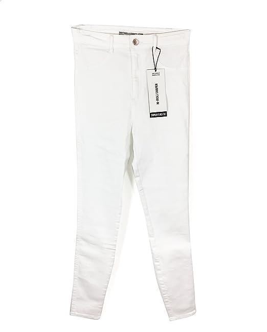 Zara - Pantalón - para Mujer Blanco 34