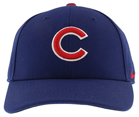 4f96e0d4a Amazon.com : Nike Dri-Fit Chicago Cubs MLB Classic Wool Hat Blue ...