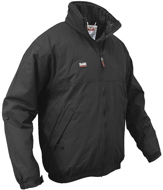 Slam - Giacca Impermeabile e Antivento in Pile Caldo Cappotto Invernale  Sailing Jacket  Amazon.it  Abbigliamento ba5995d5f15