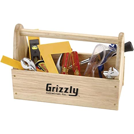 956803390 Grizzly H5855 Children's Tool Kit - Hand Tool Sets - Amazon.com