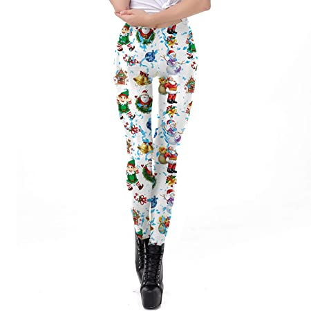 Wangqianli Nuevo diseño de Las Mujeres Leggings 3D Impreso ...