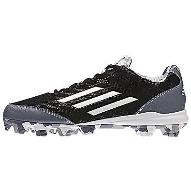 adidas Wheelhouse 3 Mens Baseball Cleat 7.5 Black-White-Carbon Met