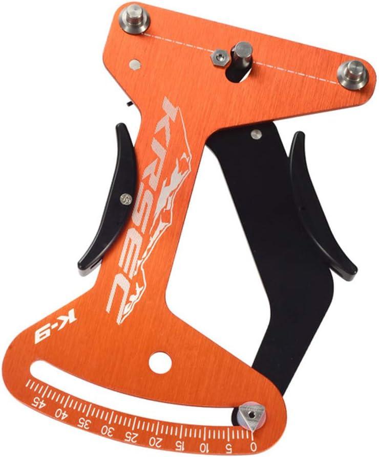 Lepeuxi KRSEC Bicicleta aleación de Aluminio radios tensiómetro Juego de Ruedas calibración Llantas Herramienta de Ajuste indicador de Bicicleta Herramientas de reparación de radios de Bicicleta