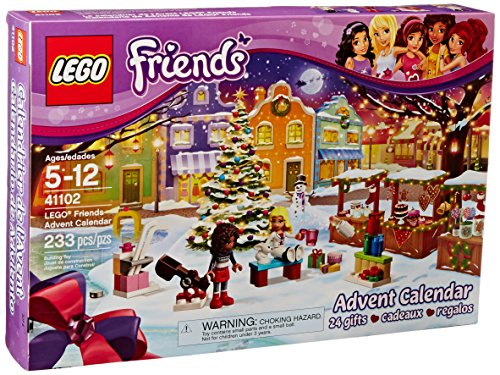 Lego Friends Christmas Sets.Lego Friends 41102 Advent Calendar Building Kit Discontinued By Manufacturer