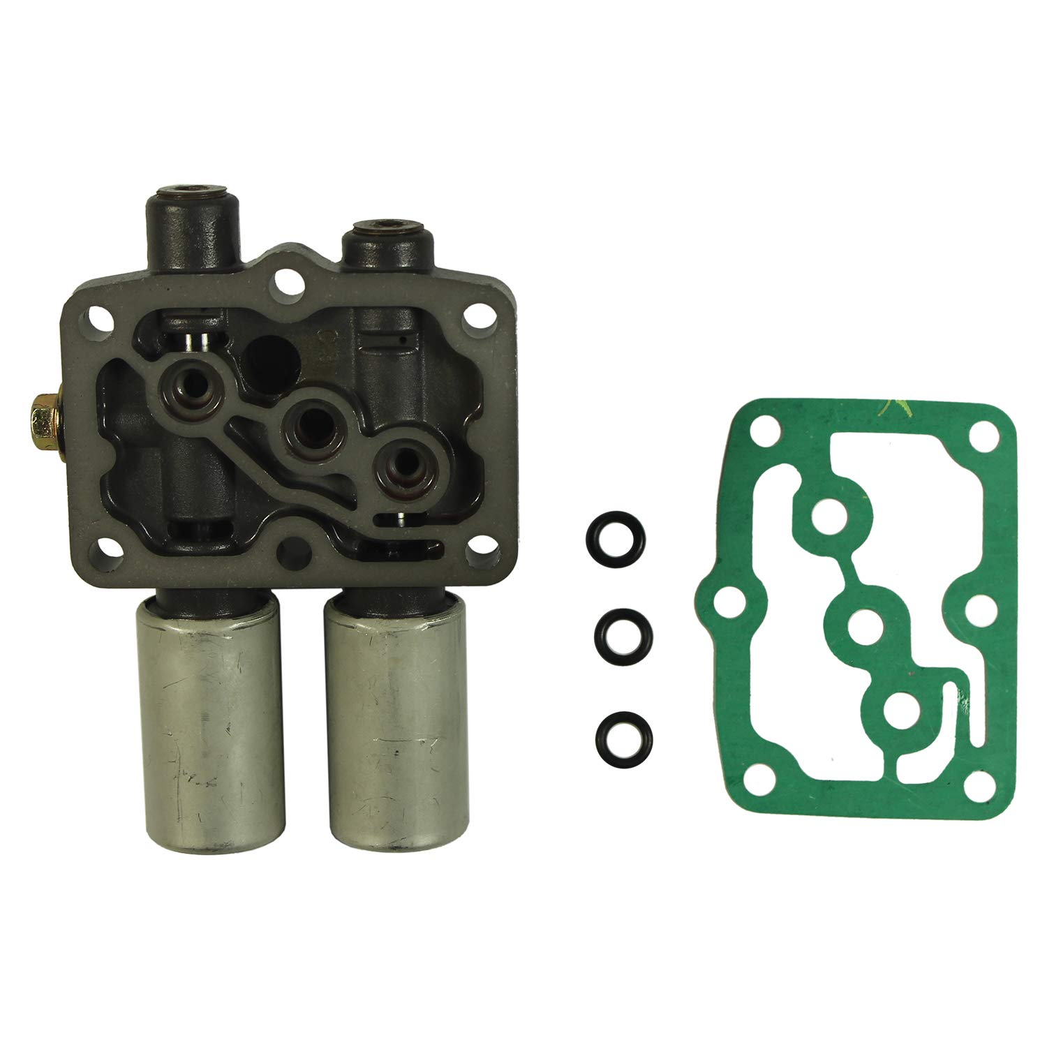 JDMSPEED New Transmission Dual Linear Shift Solenoid With Gasket For Honda Acura 1998 on