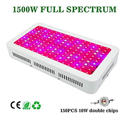 300W 13200lm Growing Light Fixture 150 LED Beads High Power LED Warm White White Blue Red 85-265V: Kitchen & Dining