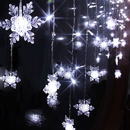 new products d8d70 fce10 104 Leds 8 Mode 2m X 1m LED Light Snowflake Style Indoor ...