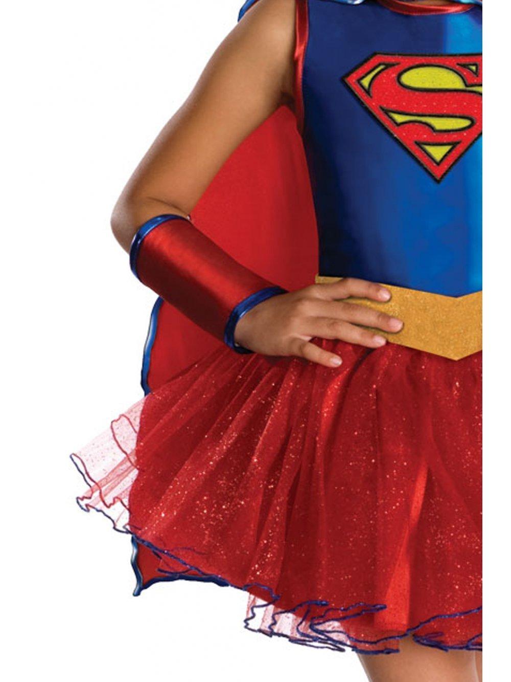 Amazon.com: Justice League Child\'s Supergirl Tutu Dress - Toddler ...