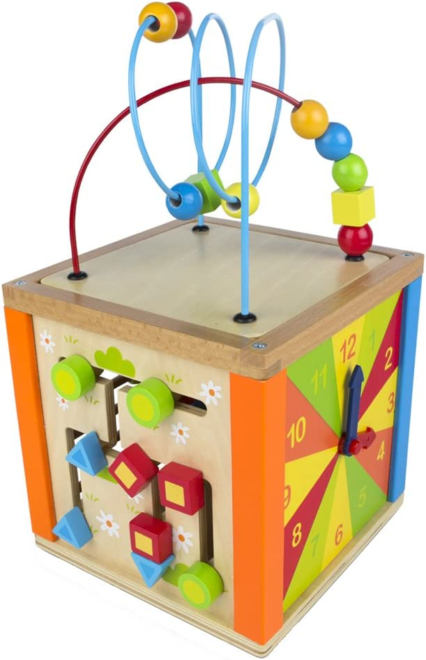 COLORBABY/ /Activity-Center aus Holz /& Abakus 42745