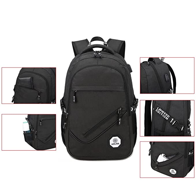Amazon.com: Business Laptop Backpack,Travel Backpack with USB Charging Port for Women & Men, Premium Computer bag with Water Resistant,Lightweight College ...