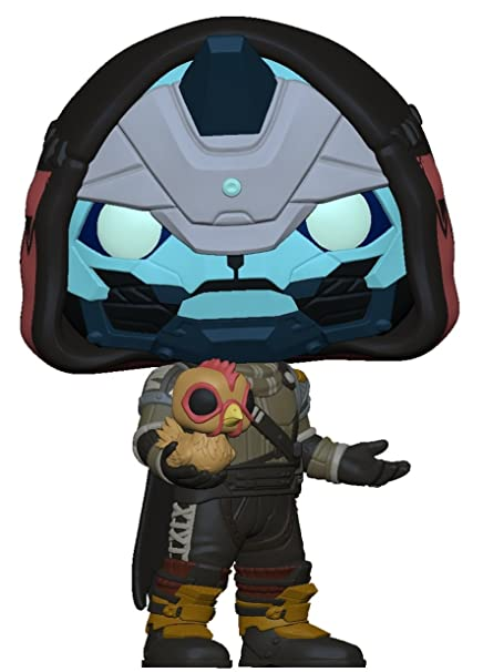 5c9b1f690a8 Amazon.com  Funko POP! Games  Destiny – Cayde 6 with Chicken ...