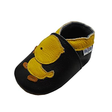 938d18b50e0 Mejale Cartoon Soft Sole Leather Baby Crib Shoes Infant Toddler Prewalkers  0-3 Years