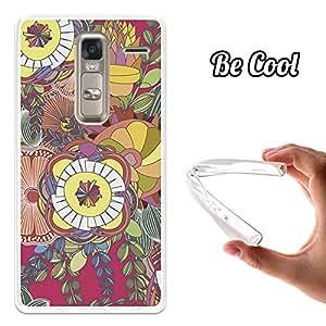 BeCool® - Funda Gel Flexible LG Zero Frutas Coloridas Abstractas Carcasa Case Silicona TPU Suave