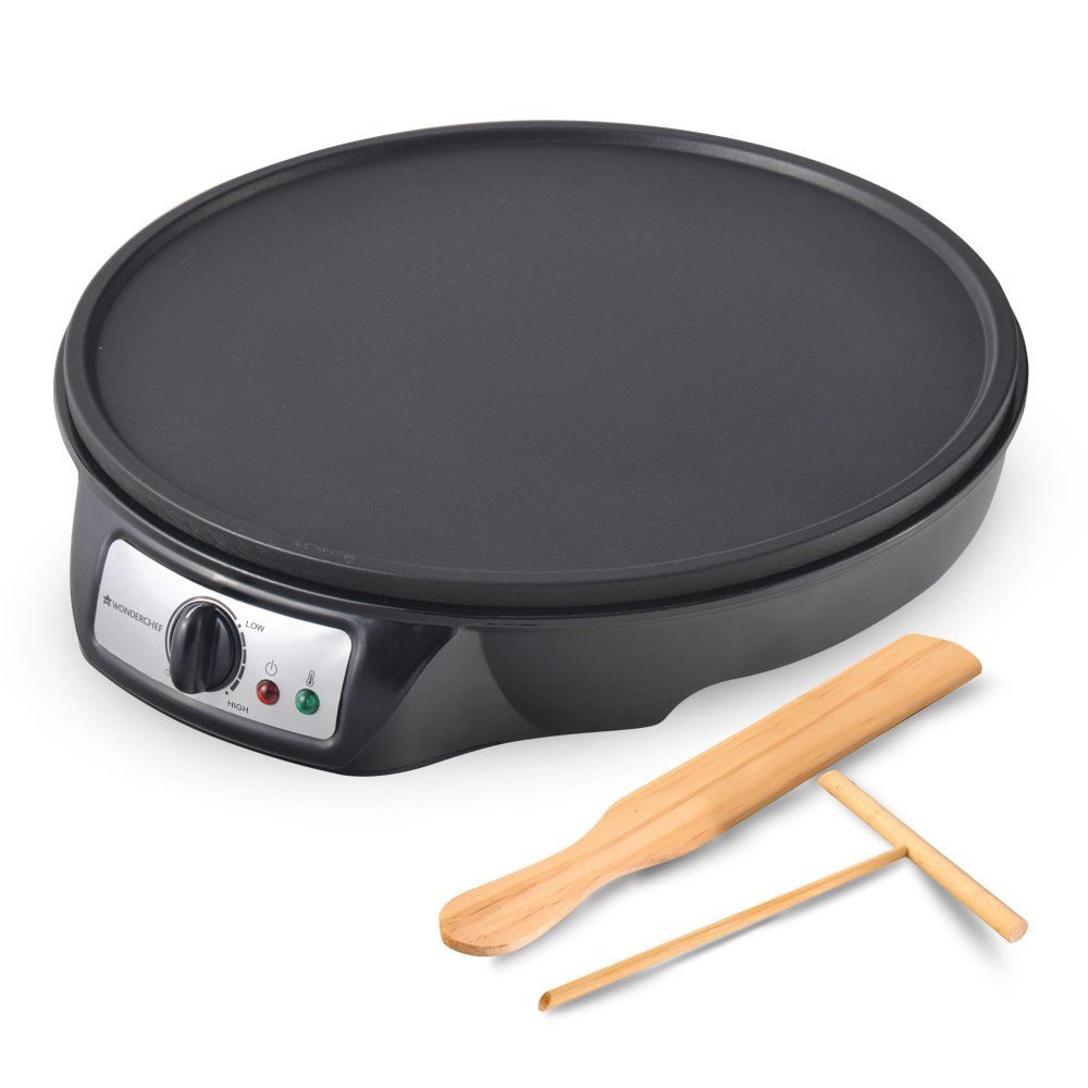 Wonderchef Dosa Make,30cm, 910-Watt(Black)