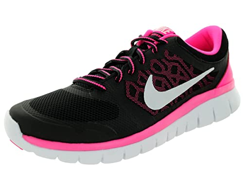 separation shoes 92356 507fc Nike Kids Flex 2015 Rn (GS) Black White Pink Pow Running Shoe 6. 5 Kids US   Buy Online at Low Prices in India - Amazon.in