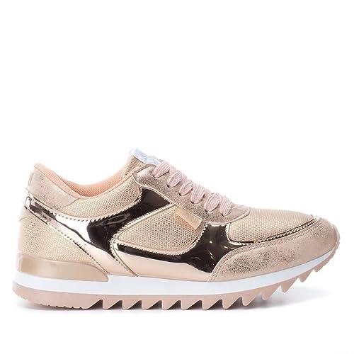 e0646f01 XTI 046991, Zapatillas para Mujer, Rosa (Nude), 39 EU: Amazon.es: Zapatos y  complementos