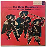 The 3 Musketeers , Read By Erroll Flynn/ Oliver Twist By Basil Rathbone Lp