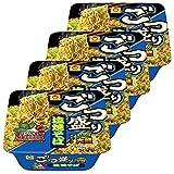 Maruchan Large Serving Fried Noodles Salt Taste 5.5oz 4pcs Japanese Instant Noodle Yakisoba Ninjapo