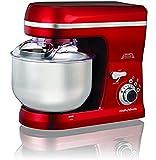 Morphy Richards Total Control 800-Watt Stand Mixer (Red)