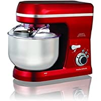 Morphy Richards Total Control 800-Watt Stand Mixer (Red)