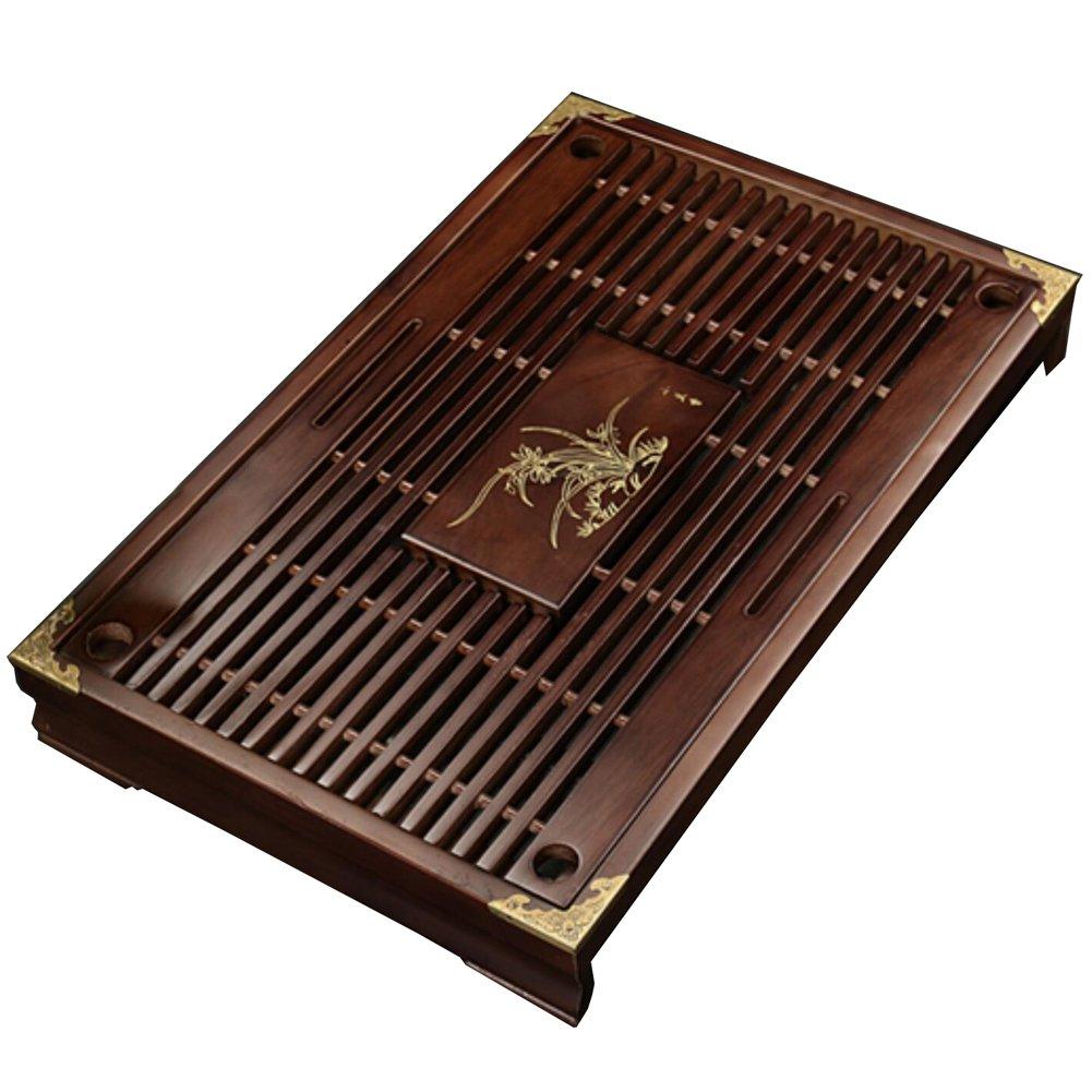 Solid Wood Tea Tray Tea Set Chinese Kung Fu Tea Set-#04