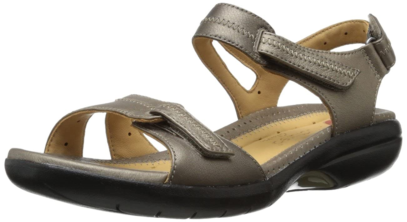 Clarks Women's Galleon Gladiator Sandal, Bronze, 6.5 W US: Amazon.co.uk:  Shoes & Bags