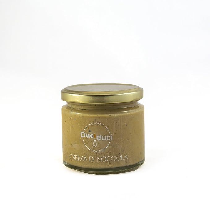 200gr de crema de avellana untada - Duci Duci - pasta artesanal siciliana, crema de