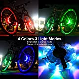 LED Bike Taillight, USB Rechargeable, 3 Colors 6