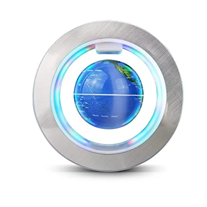 7f7c5ca1fe321 Amazon.com  Magnetic Levitation Globe World Map Circular Frame with ...