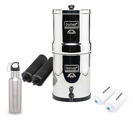 Amazoncom Big Berkey Water Filter System w 2 Black Purifier